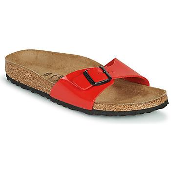 Pantofi Femei Papuci de vară Birkenstock MADRID Roșu