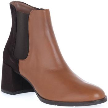 Pantofi Femei Botine Priv Lab VITELLO CUOIO Marrone