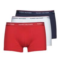 Lenjerie intimă Bărbați Boxeri Tommy Hilfiger TRUNK X3 Alb / Roșu / Albastru