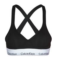 Lenjerie intimă Femei Bustiere sport Calvin Klein Jeans MODERN COTTON BRALETTE LIFT Negru