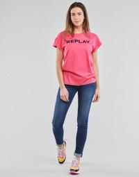 Îmbracaminte Femei Jeans skinny Replay NEW LUZ Albastru / Moyen