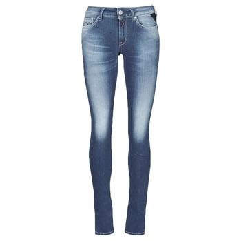 Îmbracaminte Femei Jeans skinny Replay HYPERFLEX LUZ Albastru / Moyen