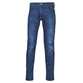 Îmbracaminte Bărbați Jeans slim Replay ANBASS Pants Albastru / Moyen