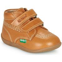 Pantofi Băieți Pantofi sport stil gheata Kickers BILLY VELK-2 Camel