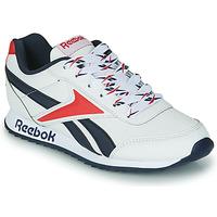 Pantofi Copii Pantofi sport Casual Reebok Classic REEBOK ROYAL CLJOG 2 Alb / Albastru / Roșu