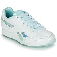 Pantofi Fete Pantofi sport Casual Reebok Classic REEBOK ROYAL CLJOG 3.0 Alb / Albastru