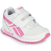 Pantofi Fete Pantofi sport Casual Reebok Classic REEBOK ROYAL CLJOG 2 KC Alb / Roz