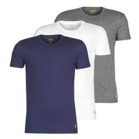 Îmbracaminte Bărbați Tricouri mânecă scurtă Polo Ralph Lauren SS CREW NECK X3 Albastru / Gri / Alb
