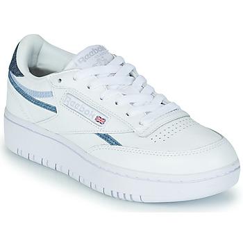 Pantofi Femei Pantofi sport Casual Reebok Classic CLUB C DOUBLE Alb / Albastru