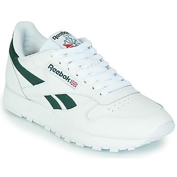 Pantofi Pantofi sport Casual Reebok Classic CL LTHR Alb / Verde
