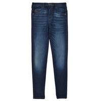 Îmbracaminte Fete Jeans skinny Diesel D-SLANDY HIGH Albastru