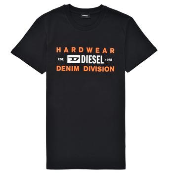 Îmbracaminte Băieți Tricouri mânecă scurtă Diesel TDIEGOSK32 Negru