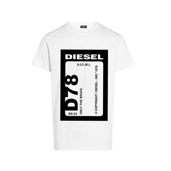 Îmbracaminte Băieți Tricouri mânecă scurtă Diesel TFULL78 Alb