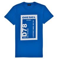 Îmbracaminte Băieți Tricouri mânecă scurtă Diesel TFULL78 Albastru