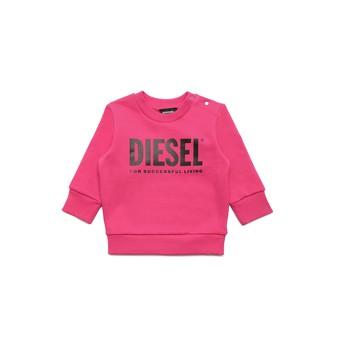 Îmbracaminte Fete Hanorace  Diesel SCREWDIVISION LOGOB Roz