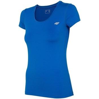 Îmbracaminte Femei Tricouri mânecă scurtă 4F TSDF002 Albastre