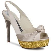 Pantofi Femei Sandale și Sandale cu talpă  joasă Magrit IMPERIALI Alb / Auriu