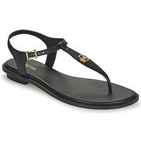 Pantofi Femei Sandale  MICHAEL Michael Kors MALLORY THONG Negru