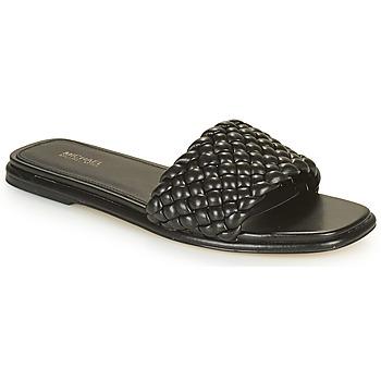 Pantofi Femei Papuci de vară MICHAEL Michael Kors AMELIA FLAT SANDAL Negru