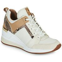 Pantofi Femei Pantofi sport Casual MICHAEL Michael Kors GEORGIE TRAINER Bej