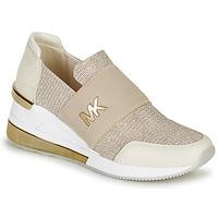 Pantofi Femei Pantofi sport Casual MICHAEL Michael Kors FELIX TRAINER EXTREME Șampanie