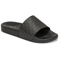 Pantofi Bărbați Șlapi MICHAEL Michael Kors JAKE SLIDE Negru