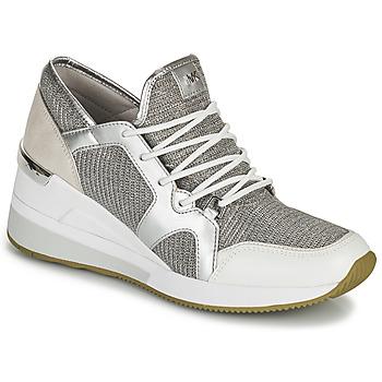 Pantofi Femei Pantofi sport Casual MICHAEL Michael Kors LIV TRAINER Argintiu