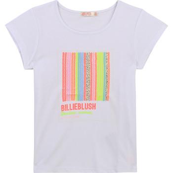 Îmbracaminte Fete Tricouri mânecă scurtă Billieblush / Billybandit U15857-10B Alb