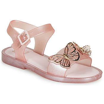 Pantofi Fete Sandale  Melissa MEL MAR SANDAL FLY Roz / Auriu