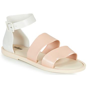 Pantofi Femei Sandale  Melissa MELISSA MODEL SANDAL Alb / Roz