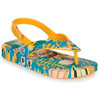 Pantofi Copii  Flip-Flops Melissa MINI MELISSA & IPANEMA Galben / Albastru