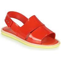 Pantofi Femei Sandale  Melissa CARBON Roșu