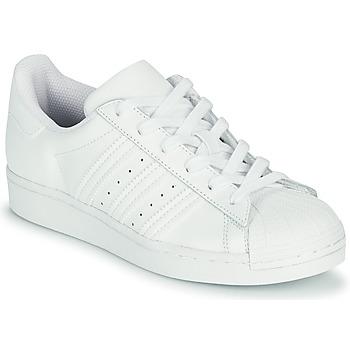 Pantofi Copii Pantofi sport Casual adidas Originals SUPERSTAR J Alb