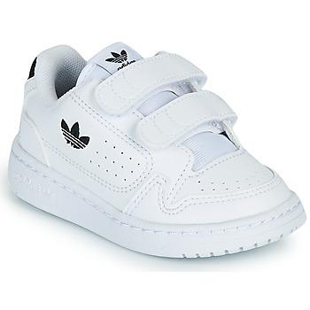 Pantofi Copii Pantofi sport Casual adidas Originals NY 92 CF I Alb / Negru