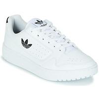Pantofi Copii Pantofi sport Casual adidas Originals NY 92 J Alb / Negru