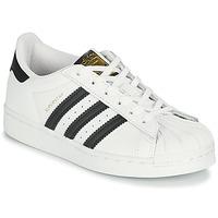 Pantofi Copii Pantofi sport Casual adidas Originals SUPERSTAR C Alb / Negru