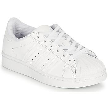 Pantofi Copii Pantofi sport Casual adidas Originals SUPERSTAR C Alb
