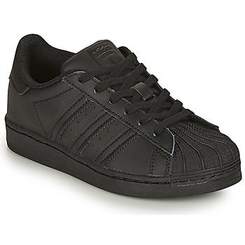 Pantofi Copii Pantofi sport Casual adidas Originals SUPERSTAR C Negru