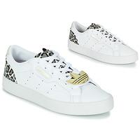 Pantofi Femei Pantofi sport Casual adidas Originals adidas SLEEK W Alb / Leopard