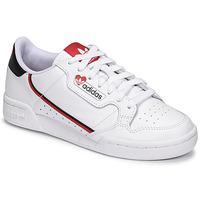 Pantofi Femei Pantofi sport Casual adidas Originals CONTINENTAL 80 Alb / Roșu