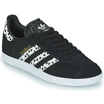 Pantofi Femei Pantofi sport Casual adidas Originals GAZELLE W Negru / Alb