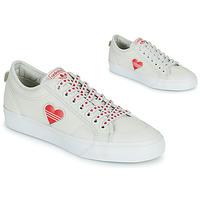 Pantofi Femei Pantofi sport Casual adidas Originals NIZZA  TREFOIL W Alb / Roșu