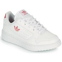 Pantofi Copii Pantofi sport Casual adidas Originals NY 92 C Alb / Roz