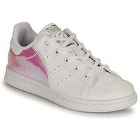 Pantofi Fete Pantofi sport Casual adidas Originals STAN SMITH C SUSTAINABLE Alb / Roz / Iridescent
