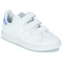 Pantofi Fete Pantofi sport Casual adidas Originals STAN SMITH CF C SUSTAINABLE Alb / Iridescent