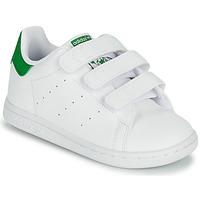 Pantofi Copii Pantofi sport Casual adidas Originals STAN SMITH CF I SUSTAINABLE Alb / Verde