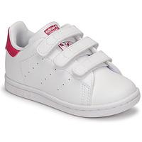 Pantofi Fete Pantofi sport Casual adidas Originals STAN SMITH CF I SUSTAINABLE Alb / Roz