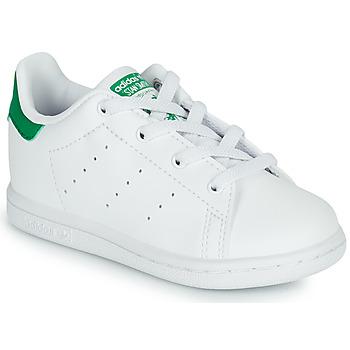Pantofi Copii Pantofi sport Casual adidas Originals STAN SMITH EL I SUSTAINABLE Alb / Verde