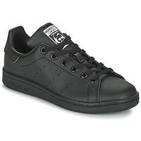 Pantofi Copii Pantofi sport Casual adidas Originals STAN SMITH J SUSTAINABLE Negru