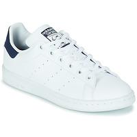 Pantofi Copii Pantofi sport Casual adidas Originals STAN SMITH J SUSTAINABLE Alb / Albastru / Vegan